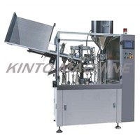Automatic tube washing,filling,sealing machine