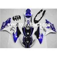 BMW S1000RR 2011-2013 Fairing - HP4 WHITE BLUE