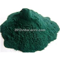 Basic Chromium Sulphate 33%  green powder for  chrome tanned leather
