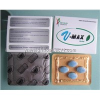 Blue Pills V-Max X4 Pills Male Herbal Sexual Boost Medicine