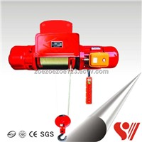 CD1MD1 Type Wire Rope Electric Hoist