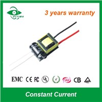 CE/SAA/PSE/TUV/RoHS approved 3w 10v dc LED power supply