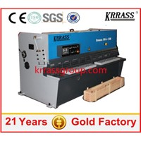 CNC Metal plate Shear Machine, Guillotine Shearer,price of shearing machines
