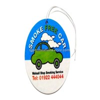 Car Air Freshener Logo printed car freshener custom Air Freshener