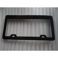 Carbon Fiber Number Plate/No. Plate/Plate Number for Audi Car