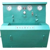 China coal device Three with valve test bench
