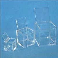 Clear Acrylic Gift Box with Lid Gift Box with Cover for Display