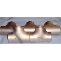 CuNi 90/10 Copper Nickel Equal Tee
