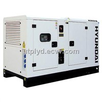 DHY34KSE 1500rpm Silenced Three Phase Diesel Generator