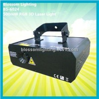 DJ Product 500mW RGB 3D Cartoon Laser Light-Laser Light (BS-6024)