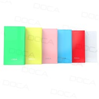 DOCA D605 ultra thin power bank for iphone samsung
