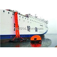 Double Chute Vertical Passage Marine Evacuation System
