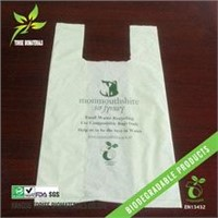 EN13432 Biodegradable T-Shirt Bag