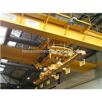 Electric workshop magnet overhead crane