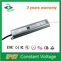 Electronic Power Supply Waterproof IP67 24v