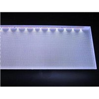 Engraving polystyrene light guide plate