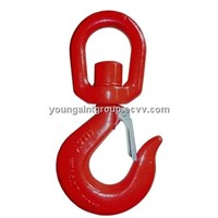 European Swivel Self-Locking Hook (G80)