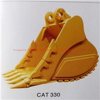 Excavator Standard Rock Bucket for Caterpillar Cat330