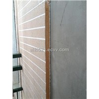 Exterior Decorative Insulation Wall Panels PUR sandwich decorative board