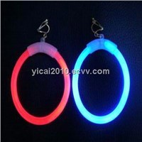 Fashionable china manufacturer glow stick earrings for party