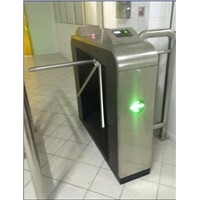 Fingerprint Card Read Access Control Tripod Turnstile