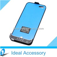 For iPhone5 External Backup Battery Case 2200mAh,Rechargable iPhone5 Power Bank Case High Quality