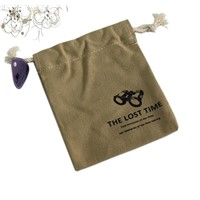 For promotion 12oz cotton drawstring bag