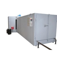 Forced Air Recirculation Industrial Powder Coating Oven