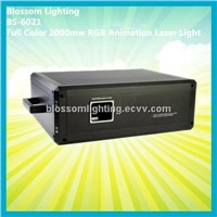 Full Color 2000mw RGB Animation Laser Light (BS-6021)