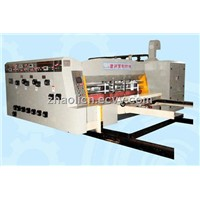 Fully automatic printing and die-cutting machine