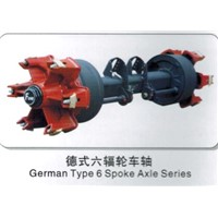 German type 6 spoke Axles Series