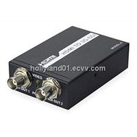 HDMI to SDI converter with SRC function