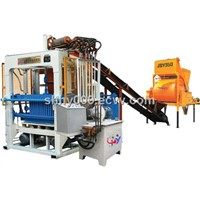 HY-QT4-25 hand operated concrete block machine
