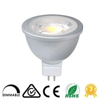 High Quality 6W  COB LED MR16 GU10 LED Dimmable Spotlight
