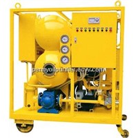 High Speed Double-stage Low Noise Transformer Oil Cleaning Plant, dehydration, degssified