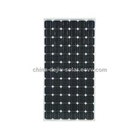 High efficiency 100w mono solar panel china manufacture