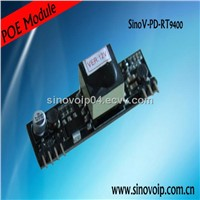 High efficiency DC/DC converter 802.3af power over ethernet poe module