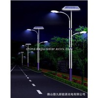 High-performance LED solar street lights from Chinese manufacturer