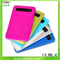 High quality portable power bank 4000mah mobile USB charger
