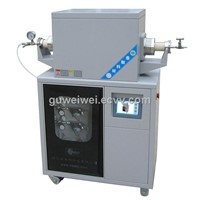 High temperature lab CVD tube furnace
