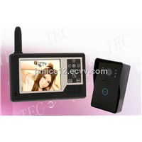 Home Security Color Wireless Audio/video Door Phone Intercom