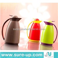 Hot sale plastic glass vacuum coffee pot,jug dispenser,drink plastic bottle