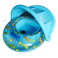 Inflatable Baby Boat with sunshade