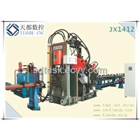 JX1412 Automatic CNC Marking, Punching and Shearing Machine