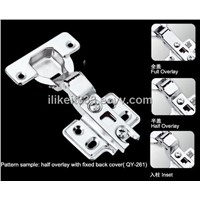 Kitchen cabinet/Wardobe/Furniture Hinges with Fixed back cover