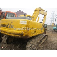 Used Komatsu pc220-6 Excavator japan origin