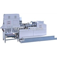LM-350-HCX Heaven and earth cover pasting box machine  CE
