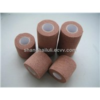 Latex Free Nonwoven Cohesive Flexible Bandage