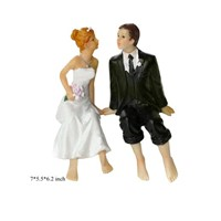 Lover Gifts Resin Figurines as Wedding Gifts