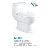 M-8071 Washdown one-piece toilet